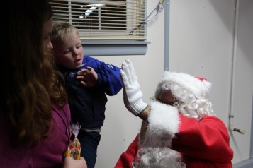 Santa Gathering, after Parade, Frank Fabrizio's House, in Brockton, 11-28-2015 (15)