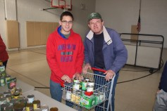 Tamaqua Troop, Pack, 777, Collecting, Sorting, Donations, Salvation Army, Tamaqua, 11-14-2015 (31)