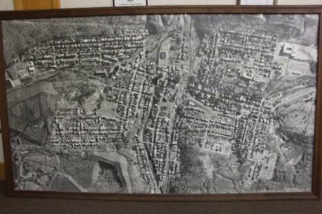 Aerial Photograph of Tamaqua, Borough Hall, Tamaqua, 1970s (38) - Copy