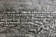 Aerial Photograph of Tamaqua, Borough Hall, Tamaqua, 1970s (68)