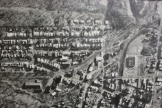 Aerial Photograph of Tamaqua, Borough Hall, Tamaqua, 1970s (71)