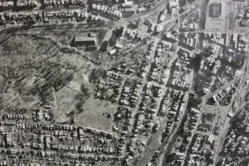 Aerial Photograph of Tamaqua, Borough Hall, Tamaqua, 1970s (85)