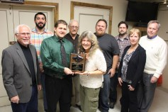 Black Diamond Award, Lansford Alive, at American Legion, Lansford, 12-11-2015 (13)