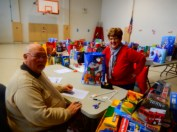 Food Basket, Angel Tree, Toys For Tots Distribution, Salvation Army, Tamaqua, 12-17-2015 (24)