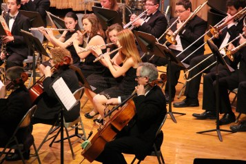 Holiday Concert via Gabriel Youth Orchestra, Lengel Auditorium, Pottsville MS (55)