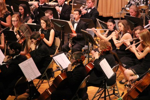 Holiday Concert via Gabriel Youth Orchestra, Lengel Auditorium, Pottsville MS (56)