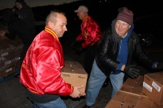 Hope's Towing and Collision Helps Deliver Holiday Hams for Salvation Army, Lehighton (35)