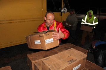Hope's Towing and Collision Helps Deliver Holiday Hams for Salvation Army, Lehighton (38)