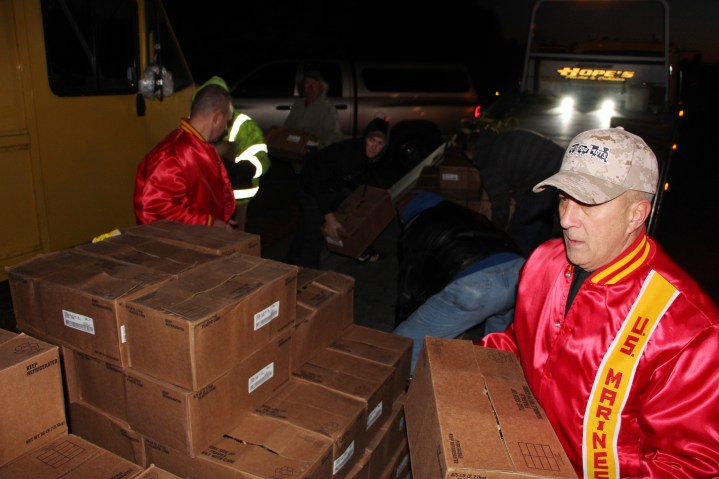 Hope's Towing and Collision Helps Deliver Holiday Hams for Salvation Army, Lehighton (42)