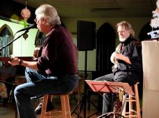 Jay Smar performs, Summit Hill Heritage Center, Summit Hill, 12-11-2015 (22)