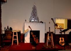 Jay Smar performs, Summit Hill Heritage Center, Summit Hill, 12-11-2015 (24)