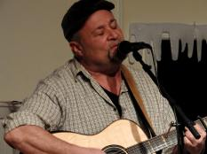 Jay Smar performs, Summit Hill Heritage Center, Summit Hill, 12-11-2015 (25)