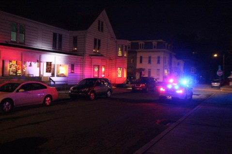 Police Chase, Stolen Vehicle, Rolling Mill Avenue, Tamaqua, 12-24-2015 (3)