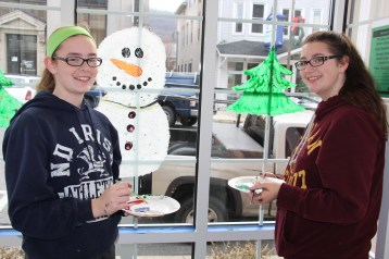 PV Students Paint Store Fronts, via Lansford Alive, Lansford, 12-11-2015 (13)