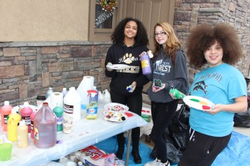 PV Students Paint Store Fronts, via Lansford Alive, Lansford, 12-11-2015 (14)