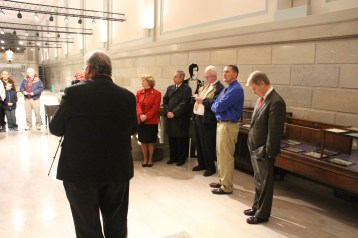 Ribbon Cutting for Renovations to Tamaqua Historical Society Museum, Tamaqua, 12-18-2015 (27)