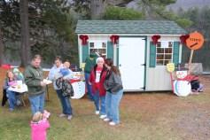 Santa Claus Visits Dam, Festival at Owl Creek, Tamaqua, 12-12-2015 (19)