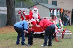 Santa Claus Visits Dam, Festival at Owl Creek, Tamaqua, 12-12-2015 (4)
