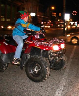 Santa Parade and Park Illumination, Depot Square Park, Tamaqua, 12-4-2015 (4)