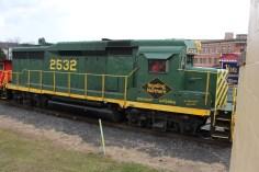 Santa Train Rides, via Tamaqua Historical Society, Train Station, Tamaqua, 12-19-2015 (111)
