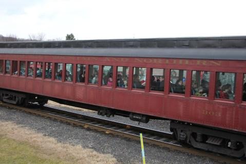 Santa Train Rides, via Tamaqua Historical Society, Train Station, Tamaqua, 12-19-2015 (121)