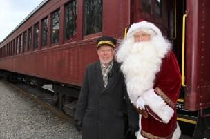 Santa Train Rides, via Tamaqua Historical Society, Train Station, Tamaqua, 12-19-2015 (82)