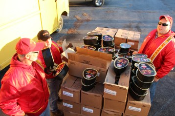 SCMCL Toys For Tots, Salvation Army, Distribution, Lehighton (38)
