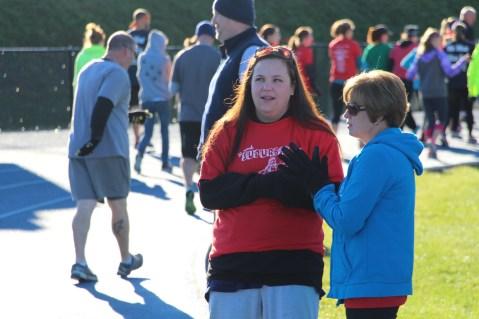 SubUrban 5k Run, Memory of Thelma Urban, TASD Sports Stadium, Tamaqua, 10-17-2015 (20)