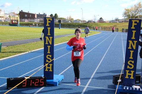 SubUrban 5k Run, Memory of Thelma Urban, TASD Sports Stadium, Tamaqua, 10-17-2015 (330)