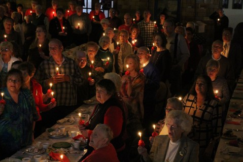 Tamaqua Community Advent Breakfast, Zion Evangelical Lutheran Church, Tamaqua, 12-12-2015 (115)