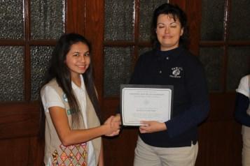 Two Tamaqua Girl Scouts Receive Silver Award, Evangelical Lutheran Church, Tamaqua, 12-20-2015 (12)