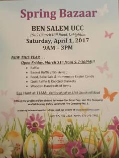 4-1-2017-spring-bazaar-at-ben-salem-ucc-lehighton