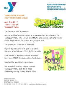 4-2-2017-spring-craft-and-vendor-show-at-tamaqua-ymca-tamaqua