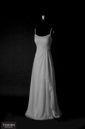 שמלת כלה עדינה משיפון