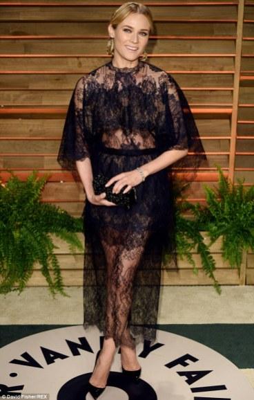 Diane Kruger wearing Valentino