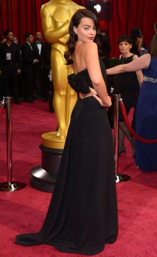 Margot Robbie wearing Saint Laurent