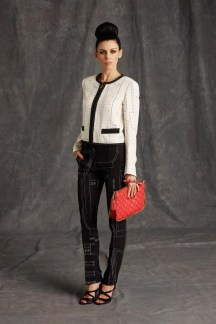 Moschino Suit with Clutch - Pre-Fall 2015