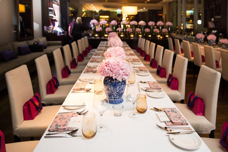 Tory Burch Fragrance dinner at Roberto's Dubai