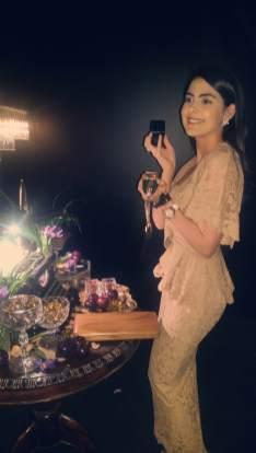 Tamara Al Gabbani enjoying Marc Jacobs Decadence