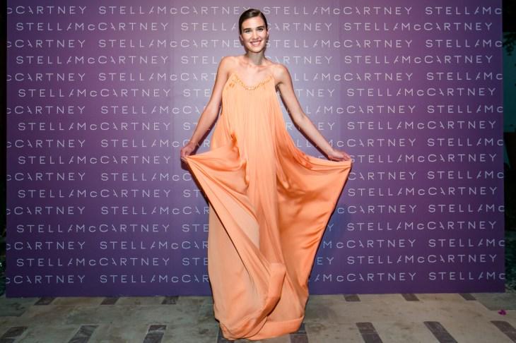 Model wearing Stella McCartney