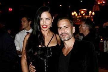 Marc Jacobs & Adriana Lima