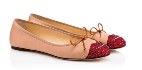 Charlotte Olympia - Kiss Me Darcy ballet pumps