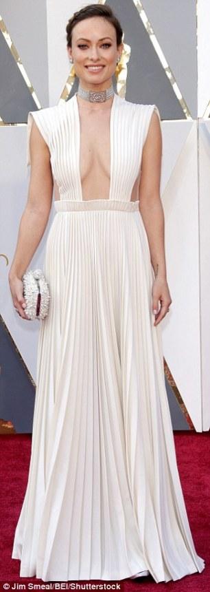 Olivia Wilde - in Valentino - Oscars 2016