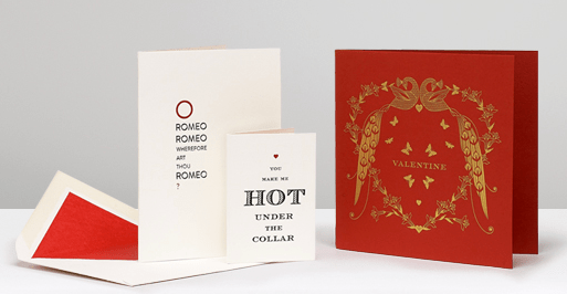 Smythson - Valentines Cards