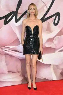 Amber Valleta - British Fashion Awards 2016