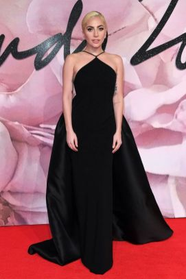 Lady Gaga in Brandon Maxwell - British Fashion Awards 2016