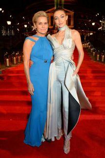 Yolando and Gigi Hadid - British Fashion Awards 2016