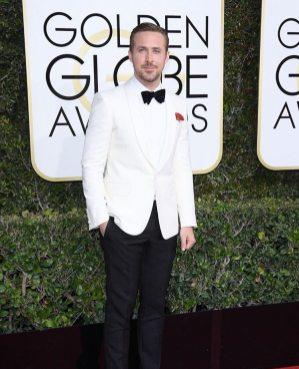 Ryan Gosling in Gucci Golden Globes 2017