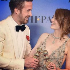 La La Land won 7 awards with Ryan Gosling and Emma Stone winning Best Actor and Best Actress - Golden Globes 2017