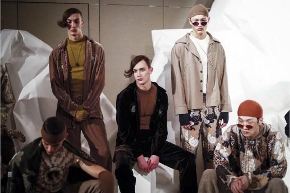 Edward Crutchley Menswear F/W 2017 London 1